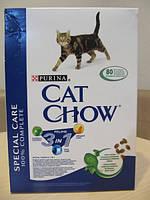 Сухой корм Cat Chow Special care 3 in 1 Корм для кошек с формулой тройного действия 0.4КГ