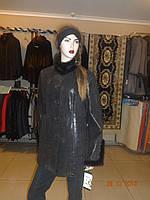 Куртка коричневая трапеция
