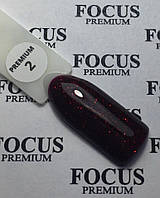 Гель лак Focus Premium от Oxxi  №2 8мл