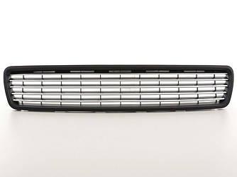 Решетка радиатора тюнинг Audi A4 B5 хром полоски