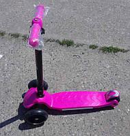 Самокат Best Scooter Розовый. арт.769 Крутая новинка 2017 .