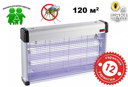 Ловушка для уничтожения насекомых DELUX AKL-40  3х20 Вт, фото 2