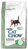 Cat Chow корм для стерилизованных кошек 1,5КГ