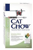 Сухой корм Cat Chow корм для стерилизованных (Sterilized) кошек 0,4КГ