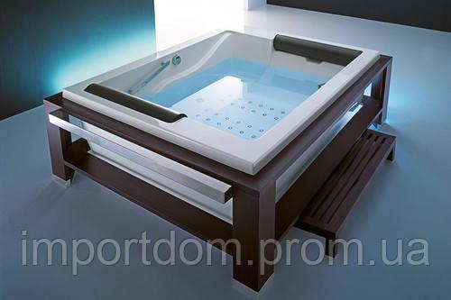 Гидромассажная ванна Gruppo Treesse Grandi Vasche Hydro Bis One Top 218x166