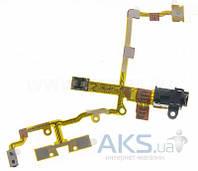 Шлейф для Apple iPhone 3G, 3GS с кнопкой включения и регулировки громкости, разъемом гарнитуры Original Black