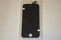 Оригинальный дисплей (модуль) + тачскрин (сенсор) для Apple iPhone 5 (черный цвет), фото 1