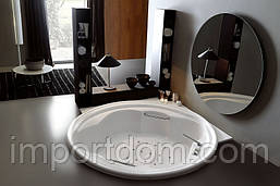 Гидромассажная ванна с каркасом Gruppo Treesse Grandi Vasche Ninfa 185x185