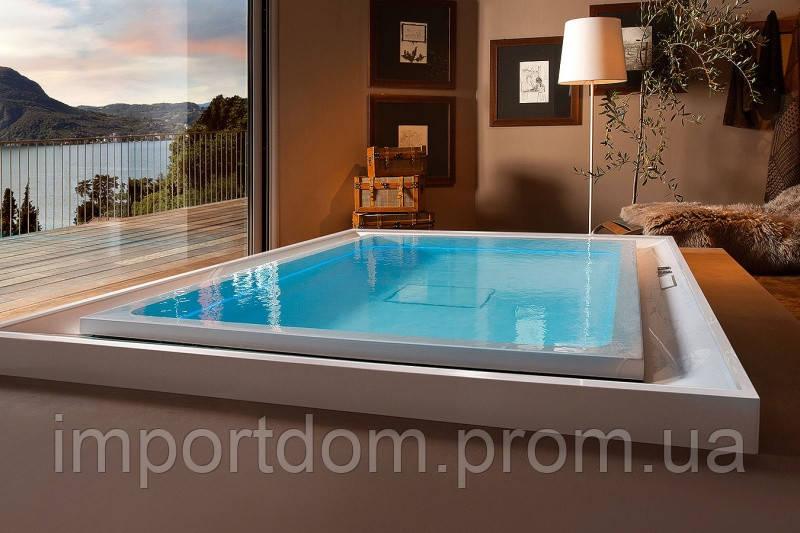 Гідромасажна ванна Gruppo Treesse Ghost System Hydro Fusion 230x180