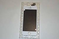 Оригинальный дисплей (модуль) + тачскрин (сенсор) для Apple iPhone 5 (белый цвет)