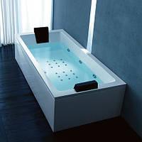 Гидромассажная ванна Gruppo Treesse Vasche Rettangolari Quadra Hydro 181 180x100