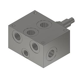 Плита с предохранительным клапаном под ДУ6 BS030/300