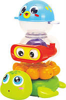 """Набор для купания Huile Toys """"Веселая компания"""" (3112)"""