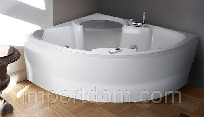 Угловая ванна Sense 7 Z1 Idromassaggio 140x140