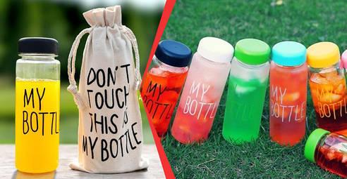 Бутылки для напитков, чашки, термосы