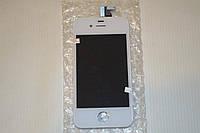 Дисплей (модуль) + тачскрин (сенсор) для Apple iPhone 4 (белый цвет)