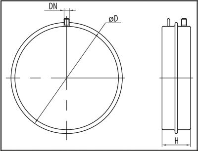 Расширительный бак Sprut FT 6D размеры
