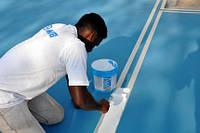 Краска для маркировки спортплощадок Mapecoat TNS Line White.5 кг. Mapei