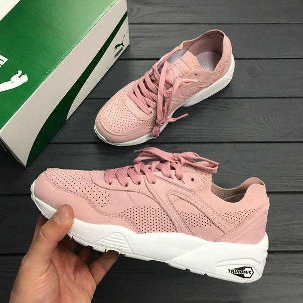 1fe275c99ed9 Женские кроссовки Puma Soft Pink Trinomic реплика   продажа, цена в ...