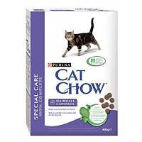 Сухой корм Cat Chow Hairball для кошек (контроль образования комков шерсти в желудке) 0,4КГ