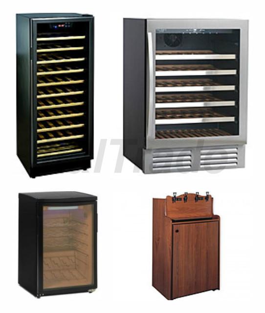 Шкафы винные холодильные