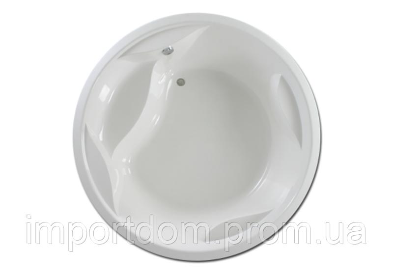 Ванна акриловая PAA Rondo 190x190 белая