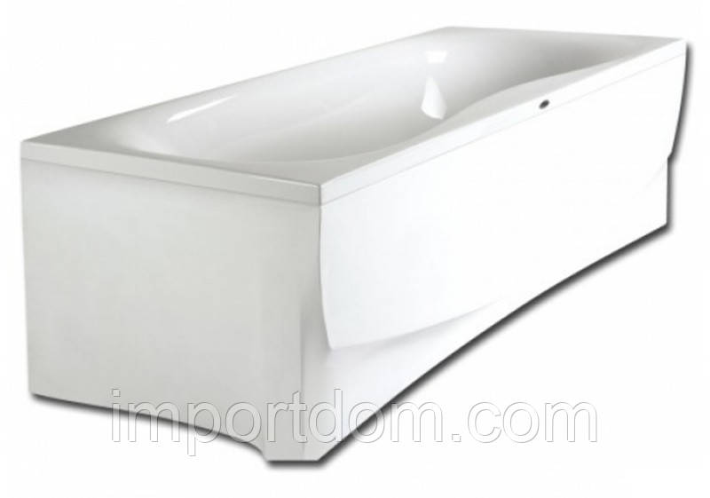 Ванна акриловая на раме PAA Prelude 180x80 белая