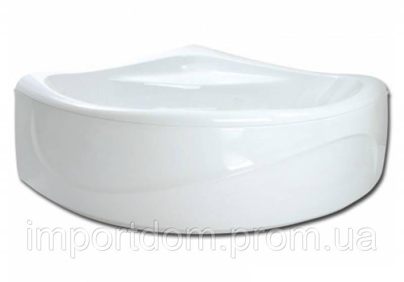 Ванна акриловая на раме Rumba 157x157 белая PAA