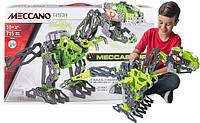 Интерактивный Динозавр, конструктор Тираннозавр Т-рекс, Мекканo, Meccano Meccasaur T-reх
