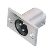 Штекер CANON метал (монтажний) (VK10791)