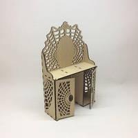 Деревянный туалетный столик для кукол Монстер Хай. Размер /7х19,5х26,5 см./