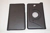 Поворотный 360° чехол-книжка для Samsung Galaxy Tab 4 7.0 T230 T231 T235 (черный цвет)
