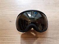 Стильная маска Be Nice в рамке. Для лыжников и сноубордистов.Черная  рамка