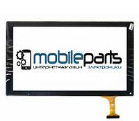 """Оригинальный Сенсор (Тачскрин) для планшета 10.1"""" RS-MX101-V3.0 (252*146 мм, 50 pin) (Черный-Самоклейка)"""