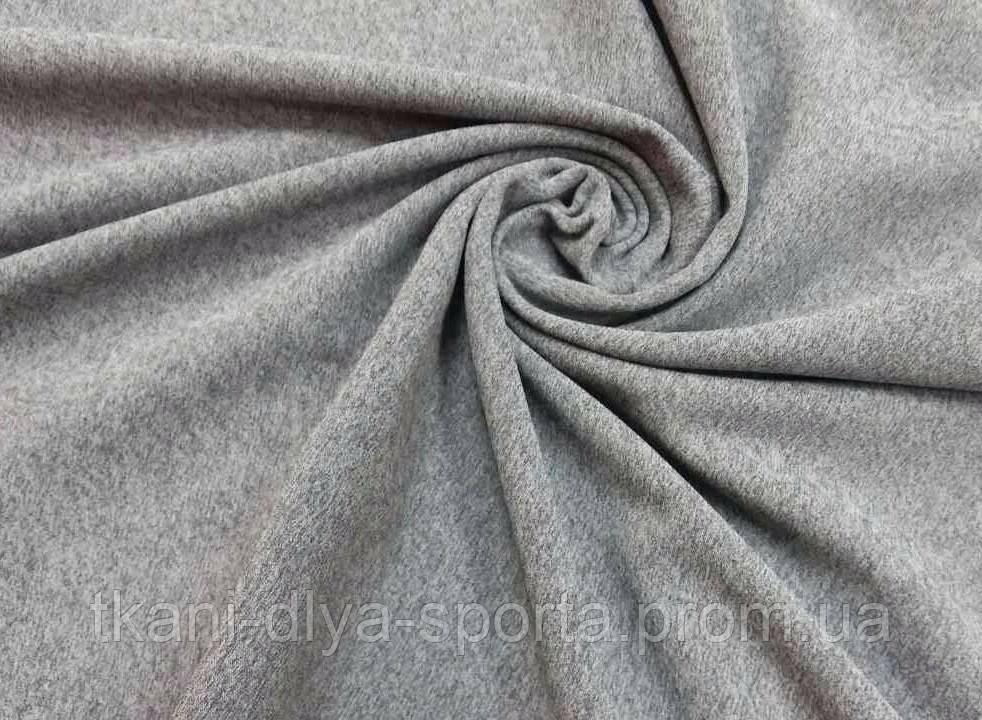 Термоткань серый меланж