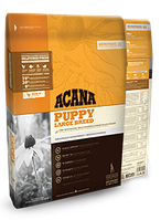ACANA Puppy Large Breed Акана Паппи Лардж Брид 17кг корм для щенков крупных пород