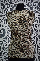 Женская шифоновая блузочка 44, 46 размер норма