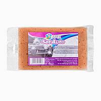 Набор для уборки автомобиля, прочная губка + салфетка