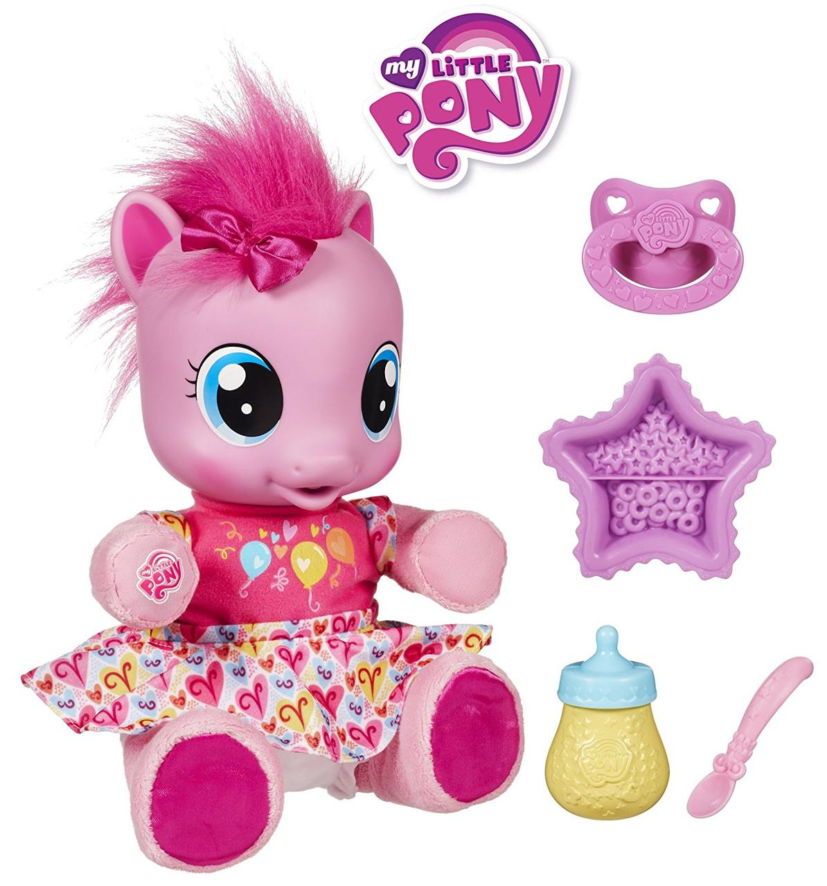 Пони интерактивная малютка Пинки Пай Учимся ходить на русском языке My Little Pony Hasbro 29208