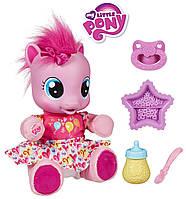Пони интерактивная малютка Пинки Пай Учимся ходить на русском языке My Little Pony Hasbro 29208, фото 1