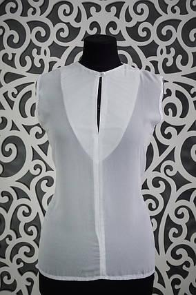 Изящная женская шифоновая блузочка 44, 46 размер норма 44, фото 2