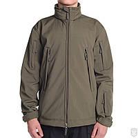 Куртка мужская софтшел (хаки) UNIT Mistral khaki