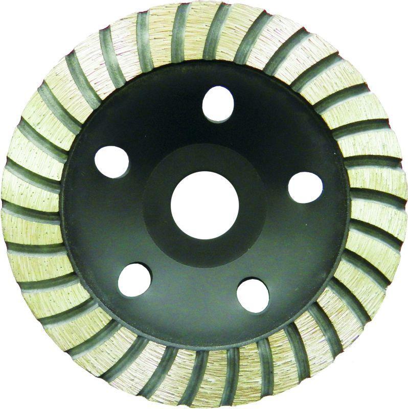 Круг алмазный Sigma 1912211 110 мм турбо шлифовальный