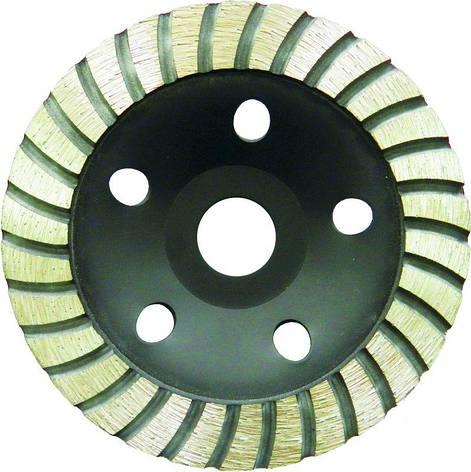 Круг алмазный Sigma 1912211 110 мм турбо шлифовальный, фото 2