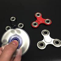 Спиннер с металлическими вставками Fidget Toy, Hand spinner, finger spinner, Вертушка, Хендспиннер фиджет
