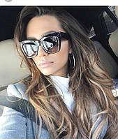 Женские  солнцезащитные очки Celine  2017 черные