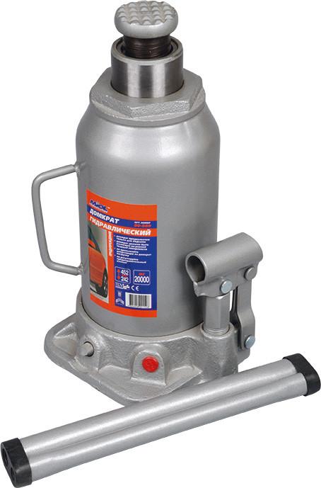 Домкрат гидравлический бутылочный 20 т, 242-452 мм Miol 80-080