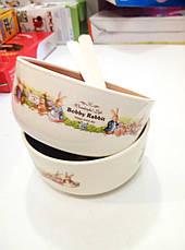 Набор детских тарелок Bobby Rabbit Wonderful Life, фото 2