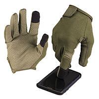 Перчатки  тактические TOUCH сенсор  олива (Mil-Tec) Германия