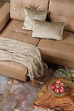 Современный угловой диван Калифорния в коже, фото 3